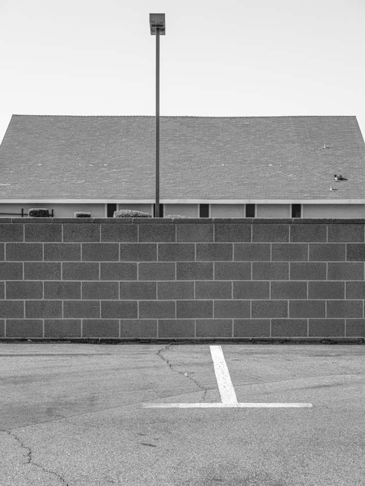 Minimal urban landscape photograph of architecture Photograph by Curtis Stage